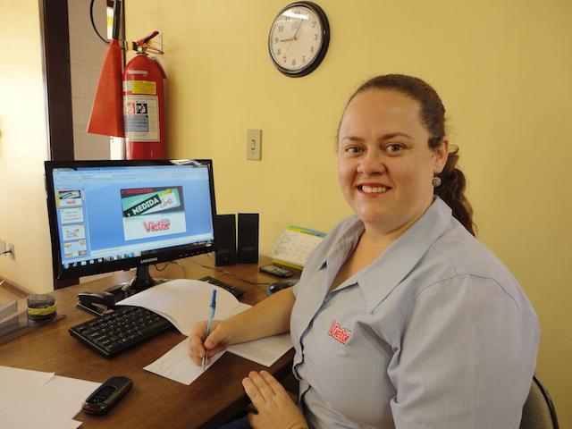 Vanessa Diniz aprova o Programa que visa promover a saúde e que, ao mesmo tempo, gera mais participação e integração dos funcionários