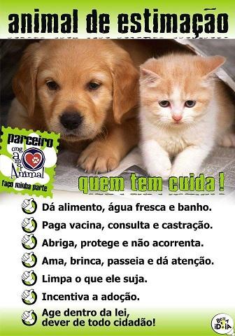 Cuidado com Animais Um