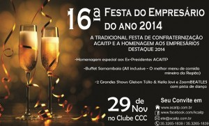 Festa do Empresário Acai 2014