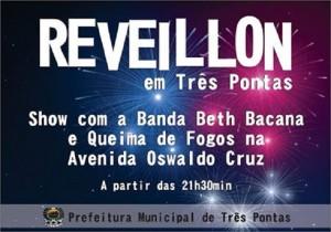 Reveillon terá banda na Avenida 4