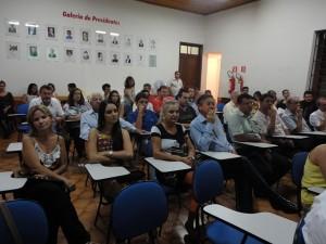 Parcial do público que prestigiou a Solenidade de Posse da Diretoria Triênio 2015-2017