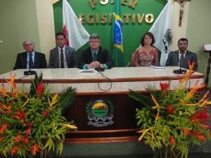 Posse Mesa Diretora da Câmara de Vereadores de Três Pontas 1