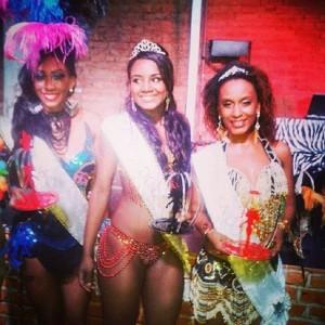 Rainha e Princesas Carnaval 2015 Três Pontas 1