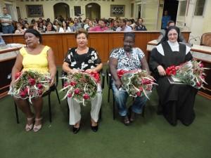 Dia Internacional da Mulher Homenagem Câmara de Três Pontas 5