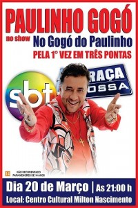 Paulinho Gogó em TP 1