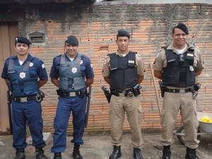 Guarda Civil Municipal e Polícia Militar deram apoio à ação