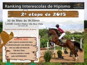 Hipismo 2 Etapa Ranking Interescolas Três Pontas 1