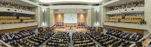 Abertura da Conferência Internacional do Trabalho 1
