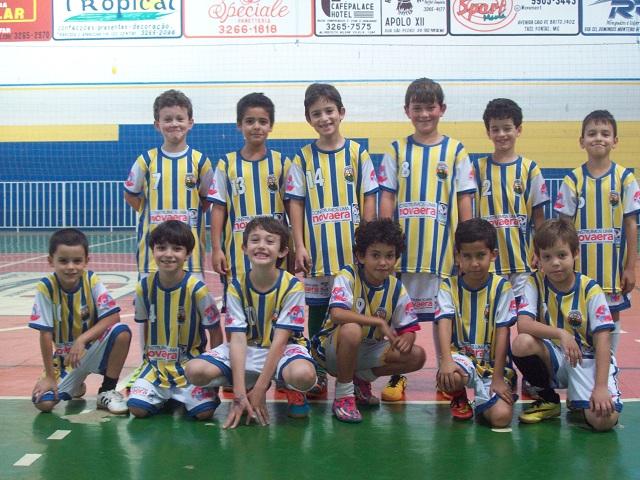 Escolinha de Futsal do Trespontano Olímpico Clube TOC 1
