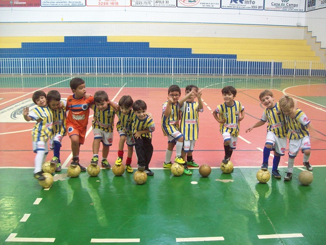 Escolinha de Futsal do Trespontano Olímpico Clube TOC 2
