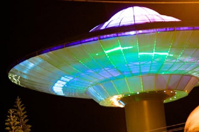 Nave do ET em Varginha Foto de Gustavo Thibe 1