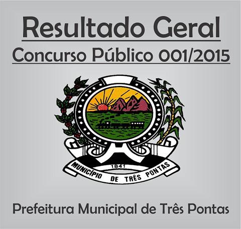 Resultado Geral Concurso Público de TP 1