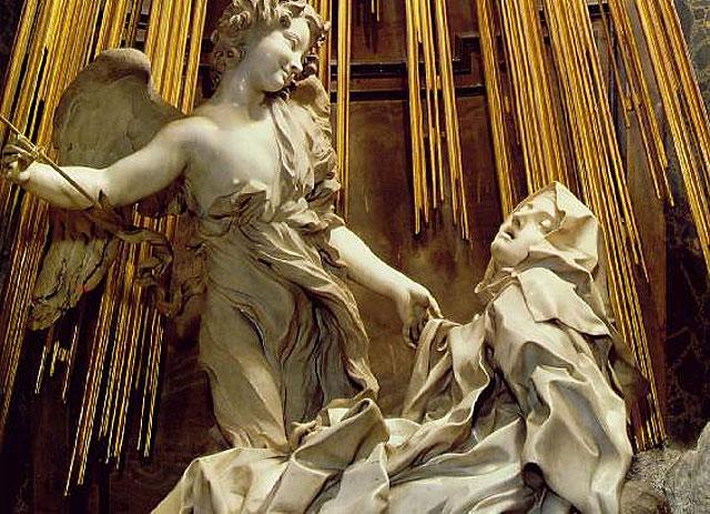 O extase de santa teresa Bernini