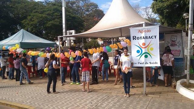 Rotary Club de Três Pontas promove Manhã da Saúde e conta com apoio com Interact e Rotaract 1
