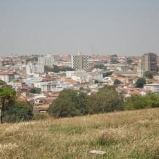 Três Pontas Cidade Vista Parcial Panorânica