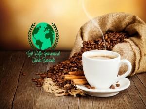 Rainha Expocafé Girl Coffee International Logomarca