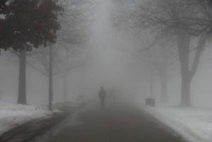 Dia das Mães Sumindo na Neblina