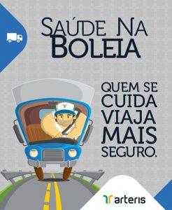 Saúde na Boleia Caminhoneiros Rodovia Fernão Dias