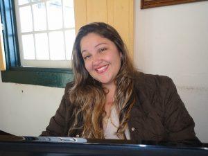 Secretária de Cultura Débora Andrade