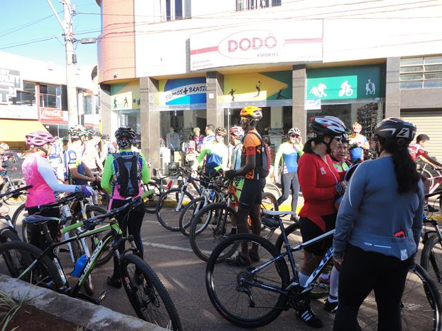 Comemoração da Páscoa por ciclistas de Três Pontas