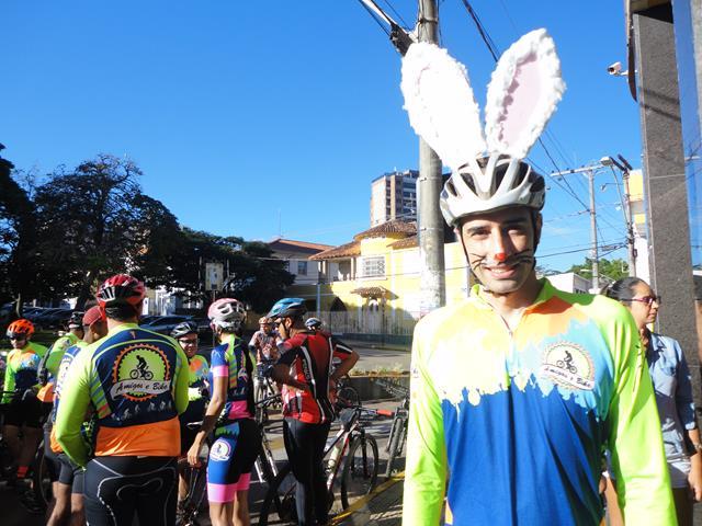 Coelho da Páscoa Pedal Solidário