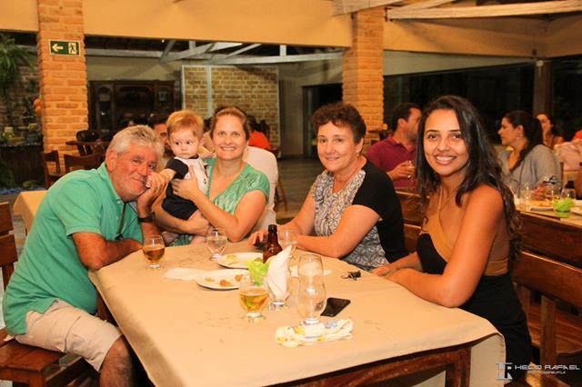 Família e convidados
