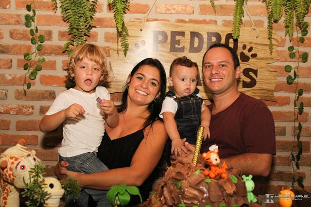 Pais e filhos festa criança