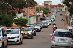 Cortejo em Três Pontas, Minas Gerais