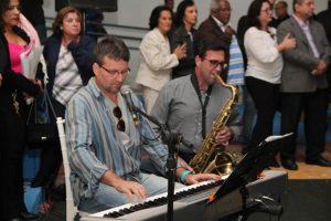 Músicos de Três Pontas Mauro Marques e Alex Tiso