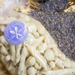 Biscoitos com sementes de Lavandas da Serra