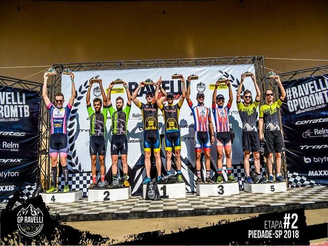 Ciclismo GP Ravelli em Piedade SP Pódio Trespontanos