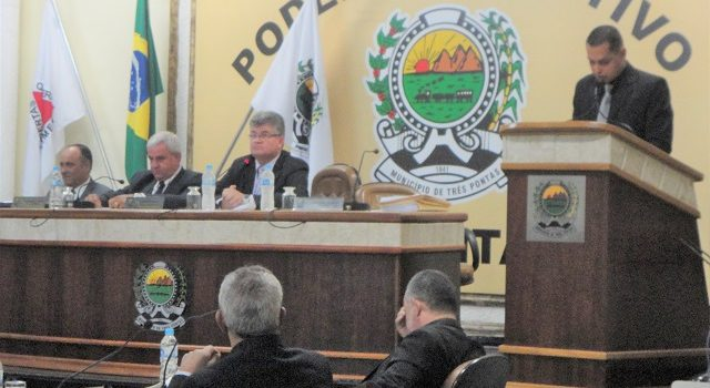 Prefeito de Três Pontas Posse Marcelo Chaves Garcia