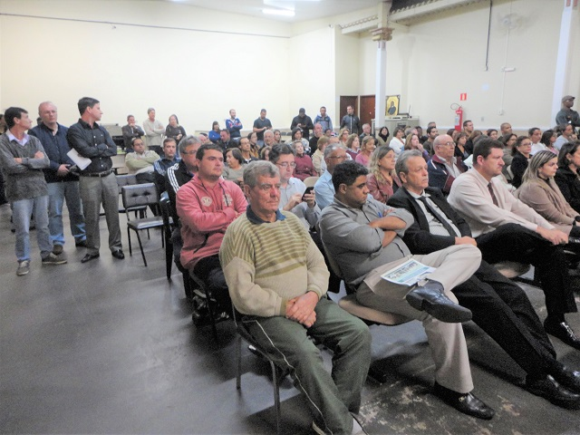 Público na posse Marcelo Chaves prefeito de Três Pontas MG