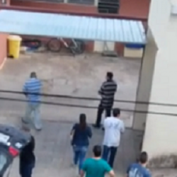Presos chegam ao presídio de Três Pontas em Operação Trem Fantasma