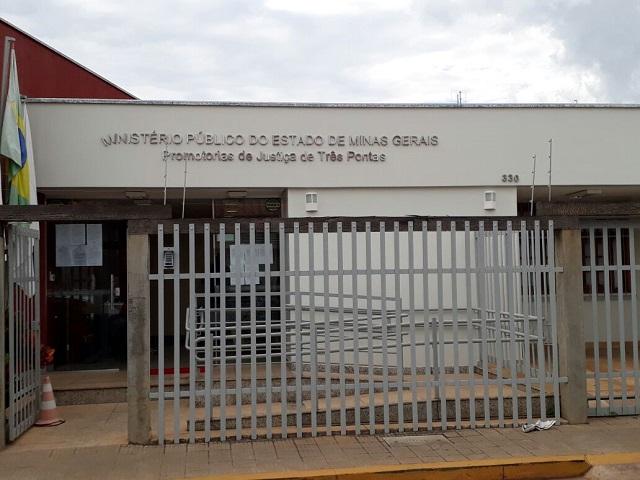Sede da Promotoria de Justiça em Três Pontas MG