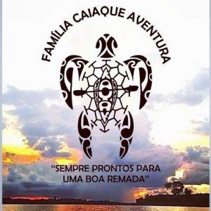 Passeio de Caiaque Logomarca Família Aventura Três Pontas