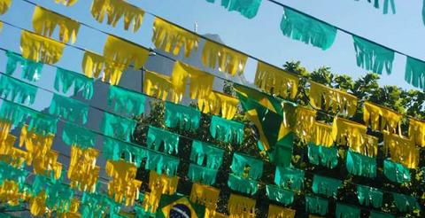 Copa do Mundo 2018 Segurança Rede Elétrica Cemig Bandeira Brasil