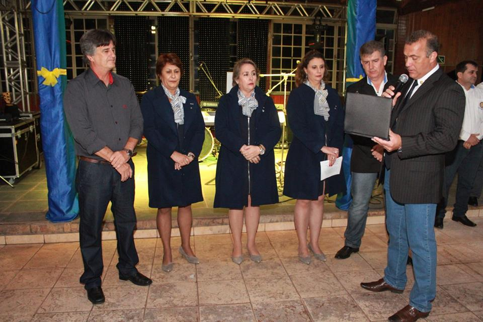 Autoridades em Festa Três Pontas Rotary