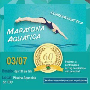 TOC Três Pontas 60 anos Maratona Aquática