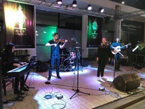 Alunos se apresentam em Festival Canto Novo na cidade de Três Pontas
