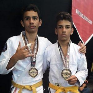Atletas de Três Pontas resultado Campeonato Sul- Americano de Jiu-Jitsu